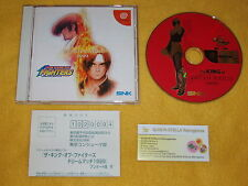 THE KING OF FIGHTERS DREAM MATCH 1999 SEGA DREAMCAST DC JAPAN NTSC IMPORT JAP
