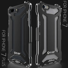 R-Just Doom Shockproof Metal Aluminum Heavy Duty Cover Case for iPhone 7/ 7 Plus
