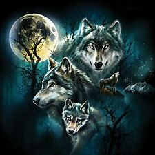 Wolf Family Collage a 500-Piece Jigsaw Puzzle by Sunsout Inc.,Soy-based inks NEW