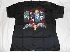 NEW Soul Calibur IV Size XL T-SHIRT SEALED Shirt Black caliber 4 yoda starwars