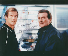 PATRICK MACNEE Signed 10x8 Photo JAMES BOND & THE AVENGERS COA