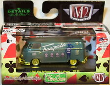 M2 MACHINES WILD CARDS 1960 VW DELIVERY VAN USA MODEL CHASE