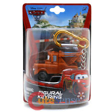 Disney Pixar Cars  Mater Key Chain Tow Truck  3D Figure PVC Key Holder Key Ring