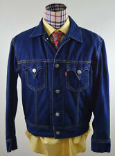 Men's Levi Strauss Levis Type 1 Iconic Jean Jacket L Levi's Dark Blue EUC