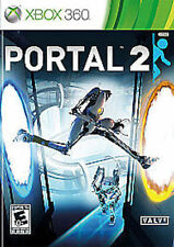 XBOX 360 Portal 2-great game!  manual included!