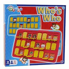 New Traditional Childrens Kids Who is Who Guess Board Game Travel Holiday Game