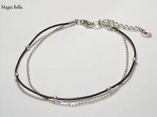 "SILPADA Sterling Silver ""DOUBLE THE FUN"" Bracelet B2700 $29"