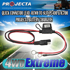 PROJECTA BCWH FUSED QUICK CONNECT HARNESS SUITS PC400 & IC700 BATTERY CHARGER