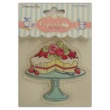 CAKE CLEAR STAMP - CUPCAKE BOUTIQUE COLLECTION - DOVECRAFT