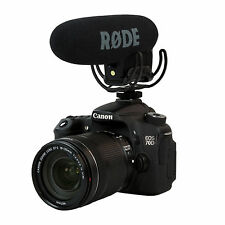 Rode VMPR VideoMic Pro R with Rycote Lyre Shockmount 5D2 5D3 7D D800 Microphone