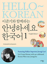 LEE JUN KI HELLO KOREAN BOOK English Ver & AUDIO DVD