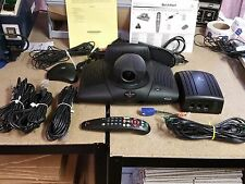 Polycom veiwstation SP Video Conference System with lot of  items pictured.
