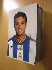 52618 Victor Sanchez MAGLIA Deportivo la Coruna originale firmato autografo foto