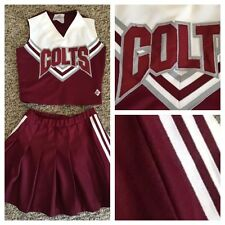 "Real Cheerleading Uniform 32""26""colts"