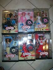 Lot of 4 Grease Barbie Sandy - Cha Cha - Frenchy - ChaChaRaces
