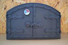Backofentür, Holzofentür, Ofentür aus Gusseisen Kamintür Räucherei Tür Gußeisen