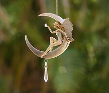 Fairy Sitting On The Moon - Lazy Days -  Dreamcatcher - Mobile - Ornament