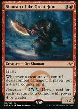 Shaman of the Great Hunt foil | nm - | versiones preliminares Promo | Magic mtg