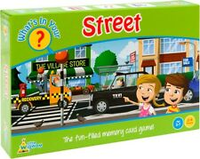 What's In Your Street? Shopping List Memory Card Game by Little Wigwam