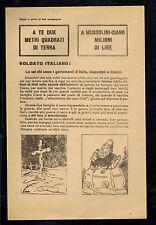 Original USSR WW 2 Surrender Leaflet Dropped on Italian Troops Safe Passage 2