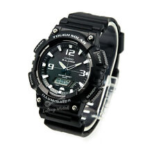 -Casio AQS810W-1A Analog Digital Tough Solar Watch Brand New & 100% Authentic