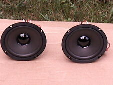 Pair of Round 6 ohm 5 ''Full Range Speakers use In A RCA Single Cabinet system!