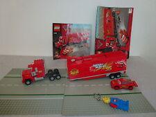Lego 8486 Cars 2  +1 Legofigurenlampe+2 Stassen+2 OBA*Rarität*