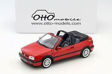 Volkswagen vw golf 3 cabriolet sport Edition rouge 1:18 OTTOMOBILE