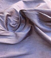 Silk DUPIONI Fabric DUSTY LAVENDER -by the yard-