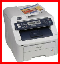 BROTHER MFC-9320CW Printer w/ NEW Toners / NEW Drums - Totally CLEAN! - REFURB !