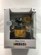 WALL-E  DISNEY PIXAR U-COMMAND W/INFRARED REMOTE CONTROL ROBOT R/C NEW IN BOX