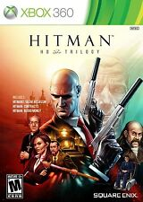 Hitman HD Trilogy [Xbox 360, Blood Money Contracts Silent Assassin] Brand NEW