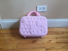 New Hello Kitty Pink Travel Makeup Case with Handles