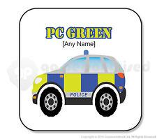 Regalo Personalizzato POLIZIA Coaster UK POLIZIOTTO Officer SUV AUTO presenti-Square