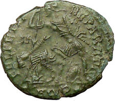 CONSTANTIUS II Constantine the Great son son Ancient Roman Coin Horse man i29229