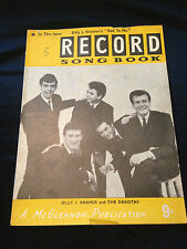 Record Song Book Billy J Kramer And The Dakotas