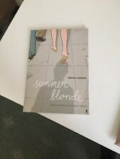 Summer Blonde Graphic Novel - Adrian Tomine