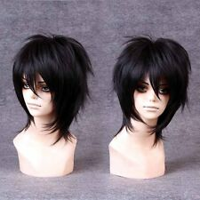 Handsome Boys Wig New Korean Fashion Short Men Natural Black Hair Cosplay Wigs