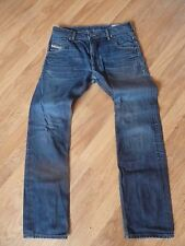mens DIESEL krooley jeans - size 31/32 good condition ( needs new zip )