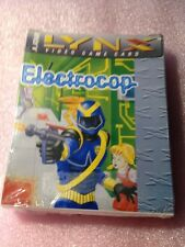 Electrocop (Lynx, 1991) Atari Factory Shrunk Wrap Smaller Box Version