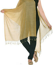Luxurious Kashmiri 80% Wool & 20% Silk Pashmina Shawl Wrap Scarf 11 Colours