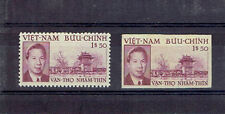 French Indochina Indochine Vietnam Bao Dai & Pagoda of Literature  (Per + Imper)