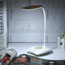 Flexible Rechargeable Dimmable USB LED Night Light  Bedside Desktop Reading Lamp