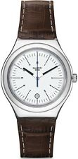Swatch Appia Leather Mens Watch YWS401