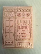 Flourish - Pink Playing Cards Deck  - Dan And Dave -  1000 -  Ltd. Column Five