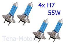 4x H7 499 12V 55W Fari Fanale Lampada Alogena 5500K XENON SUPER HID BIANCO