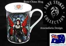 ANNE STOKES BONE CHINA MUG ARACNAFARIA