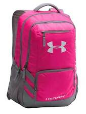 Under Armour Team Hustle All Sport Backpack 1272782-654 Pink