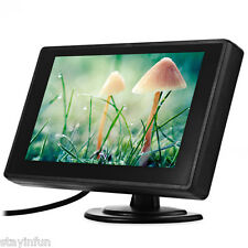 4.3 inch Foldable Car LCD TFT Rear view Monitor Screen DVD Playing 2 Video Input