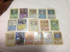 Pokemon cards private collection bundle lot 20 1st edition fossil base jungle